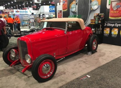 Completed '32 Roadster Returns to SEMA